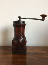 MOULIN CAFE NOYER SCULPTE LOUIS XIV XVIIIEME 18TH CENTURY WALNUT COFFEE GRINDER