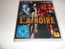 PlayStation 3 PS 3 L.A. noire