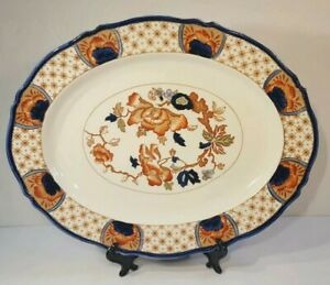 Dishware from England Vintage Wood and Sons Pottery Lima Pattern Side Plate Replacement Dish