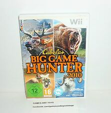 JEU NINTENDO WII BIG GAME HUNTER 2010  REF 32