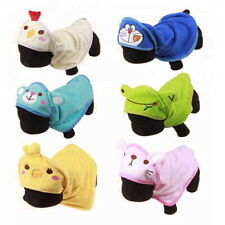 Microfibre Dog Towel Robe Great Fun Design Super Soft Great For Wet Cold Dogs