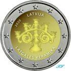 2 Euro Gedenkmünze Lettland 2020 Lettgallische Keramik