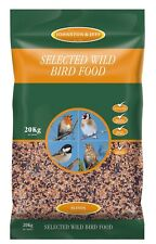 Johnston & Jeff Top Quality Selected Wild Bird Seed 20kg FREE NEXT DAY DELIVERY