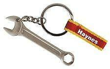 Official Haynes Keyring Mechanic Dad Gift Novelty Spanner Tools Car Garage fun