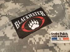 SNAKE PATCH écusson BLACKWATER noir US mercenaire MERCENARY USA
