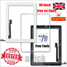 For iPad 4 A1458 A1459 A1460 Screen White Digitizer Touch Replacement Button IC