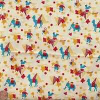 Sunbonnet Sue 1930s reproduction elephants camels Windham fabric