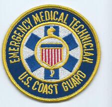 Uscg patch Emergency Medical Technician 3-3/4 dia #1983