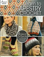 Learn to Tapestry Crochet | Annie's 871708 (Orig Price $11.99) NEW!