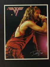 LOT: TWO 1984 DAVID LEE ROTH of VAN HALEN  PROMO PHOTOGRAPHS~