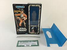 "Custom Vintage Star Wars 12"" Luke Skywalker X-wing Pilot Caja + Insertos"