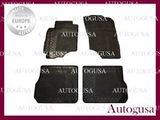 NEW GENUINE LHD RUBBER CAR MATS FOR MITSUBISHI OUTLANDER 2002-2006 MK1 CARPETS