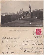 # S. GIULIANA CON RODA DI VAEL  FASSA   1931