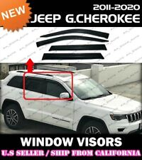 WINDOW VISORS for Jeep 11-19 Grand Cherokee WK2 DEFLECTOR RAIN GUARD VENT SHADE