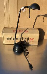 Electrix 7250 Black Flexible Desk Lamp - New with Box