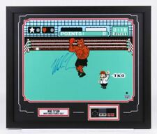 Mike Tyson Signed Punch-Out Framed Photo w/ Nintendo Controller!! Steiner 22x26