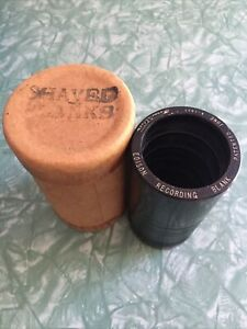 Edison Recording Blank Cylinder Record Shaved Blanks Ptd June 4 1907