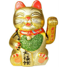 MANEKI NEKO HAPPY MONEY CAT - CHINESE LUCKY WAVING CATS - ATTRACT WEALTH