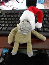 Santa Hat for PG Tips Jonny Vegas Monkey TV from the Advert Sidekick FREE UK P&P