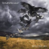 DAVID GILMOUR - RATTLE THAT LOCK  CD + BLU-RAY NEW!