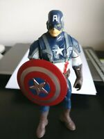 """8"""" CAPTAIN AMERICA Marvel Avengers Superhero Action Figure Doll 20cm NEW"""