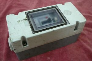 Wylex WES25/4 25A 30mA 4 Pole 3 Phase RCD with housing