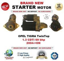 FOR OPEL TIGRA TwinTop 1.3 CDTi 69 bhp 2004->ON NEW STARTER MOTOR 1.1 kW 9 Teeth