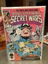 Marvel Super-Heroes Secret Wars #7 (1984) 1st Black Suit Spider-Woman