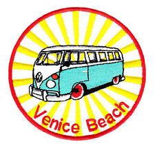"Vintage Style ""Venice Beach"" Surfing Surfer Surf Board Shirt Patch Badge 9cm"