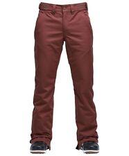 2018 NWT Airblaster Mens Cranky Pant Pants M Medium 15K Snowboard Mahogany ac952