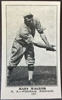 1917 Collins-McCarthy Pittsburg Pirates E-135 Reprint Set (6) Cards Hans Wagner