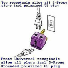 AC POWER Travel Adapter Converter Plug Socket INDIA Pakistan Type D BS546