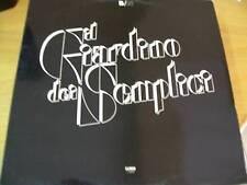 GIARDINO DEI SEMPLICI B/N  LP COVER IN RILIEVO SIGILLATO