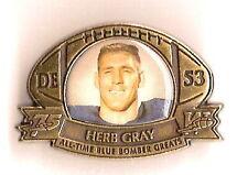 Winnipeg Bluebombers 75th Anniversary Pin Herb Gray