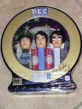Pez Lim. Edition Elvis Presley 3 Collectible Dispensers in Tin Mint Sealed MISP