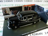 JB114 1/43 IXO 007 JAMES BOND Angleterre : Austin FX4 Taxi Londres octopussy