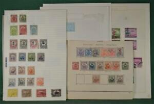 HAITI STAMPS SELECTION ON 9 ALBUM PAGES   (P103)
