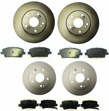 HONDA CIVIC 1.8 2.2 CDTi 2006-2011 FRONT & REAR BRAKE DISCS AND PADS SET NEW