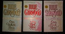 The Clayborne Brides:Julie Garwood 3 books, One Pink , One White & One Red Rose