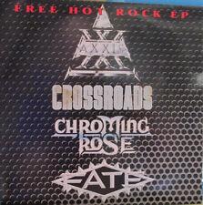 "Vinyl-Single ""Free Hot Rock""-EP Weisslabel Rock Pover 02 ""Rarität"""