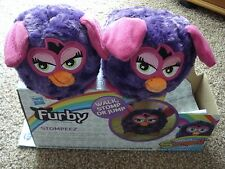 ***NEW*** STOMPEEZ Size X-SMALL 7-9 CHILDS SLIPPERS 'FURBY' BIG EARED.