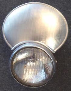 Husqvarna Rickman Cheney SET/3 handmade alloy number plates ISDT 180mm headlight