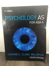 PSYCHOLOGY AS FOR AQA A BY CLAIRE MELDRUM  PAPERBACK WORK BOOK 2008