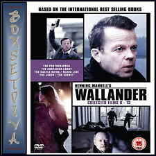 WALLANDER COLLECTED FILMS 8 - 13  **BRAND NEW DVD ****