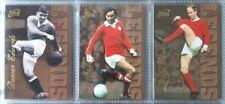 Futera GOLD Legends 1997 MANCHESTER UNITED 6 Card Insert Set