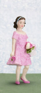 Dolls house figure,1/12th scale poly/resin Girl named Ann