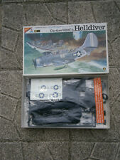 ANCIENNE MAQUETTE AVION CURTISS SB2C-5 HELLDIVER NICHIMO 1/48 - MADE IN JAPAN