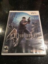 Resident Evil 4 - Nintendo Wii Brand New Factory Sealed
