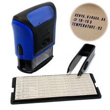 Scrapbooking Encreur Tampon à Composer Lettre Alphabet Encre Stamp Prénom