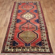 OLD WOOL HAND MADE PERSIAN ORIENTAL FLORAL RUNNER AREA RUG CARPET 290 X 115 CM